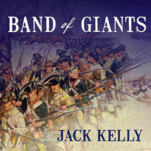 Printable Band of Giants: The Amateur Soldiers Who Won America's Independence Audiobook Cover Art