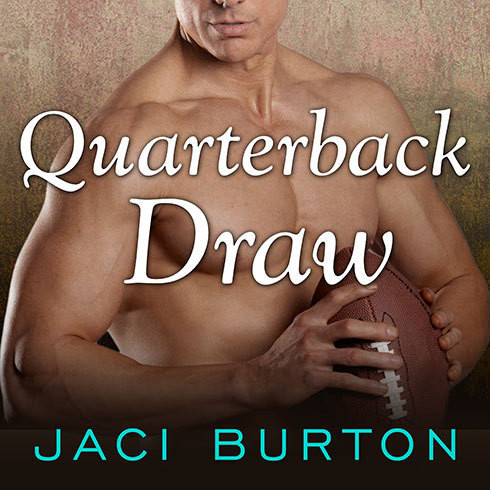 Printable Quarterback Draw Audiobook Cover Art