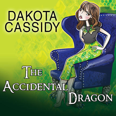Printable The Accidental Dragon Audiobook Cover Art