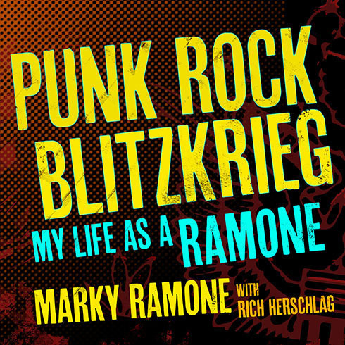 Printable Punk Rock Blitzkrieg: My Life as a Ramone Audiobook Cover Art