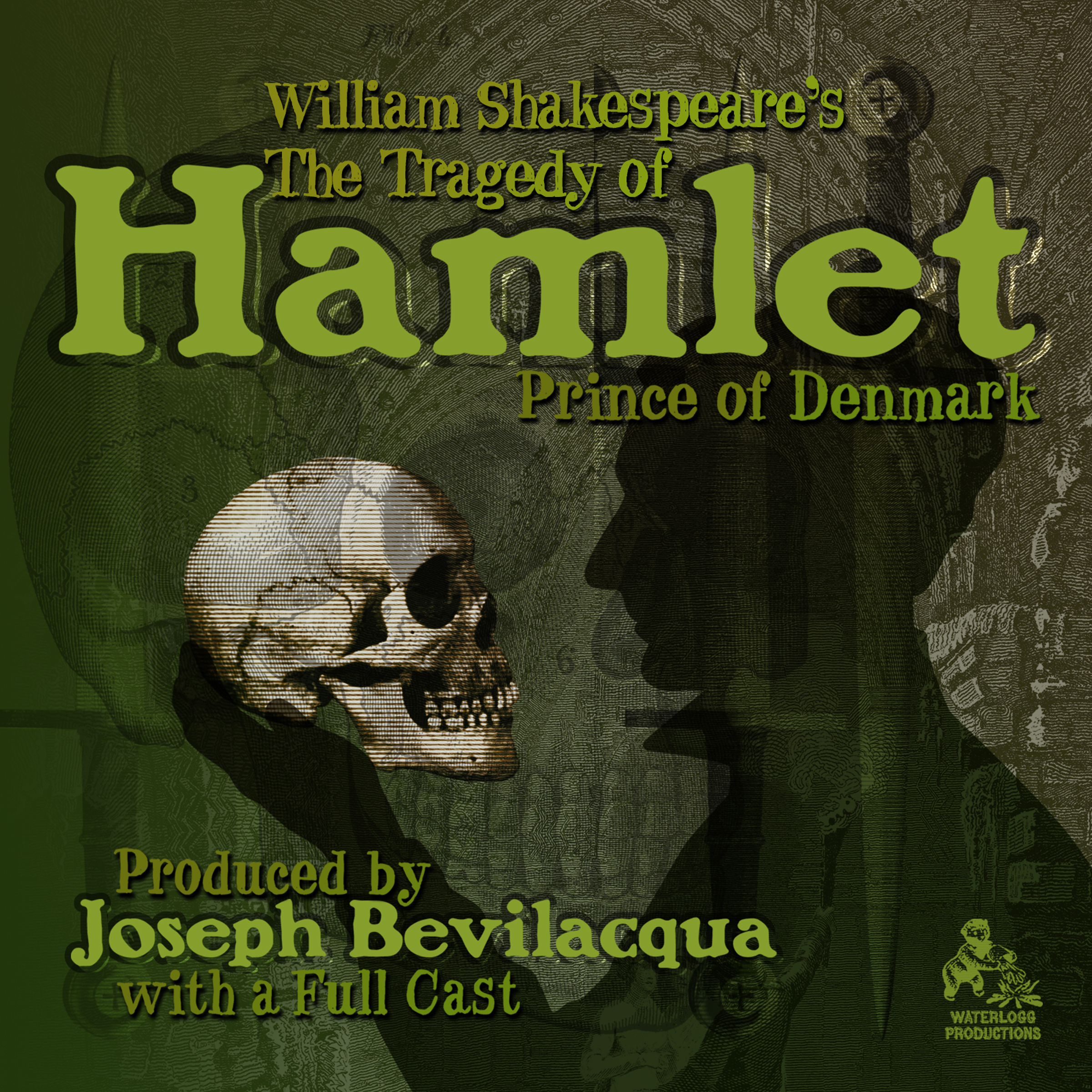 Printable The Tragedy of Hamlet, Prince of Denmark Audiobook Cover Art