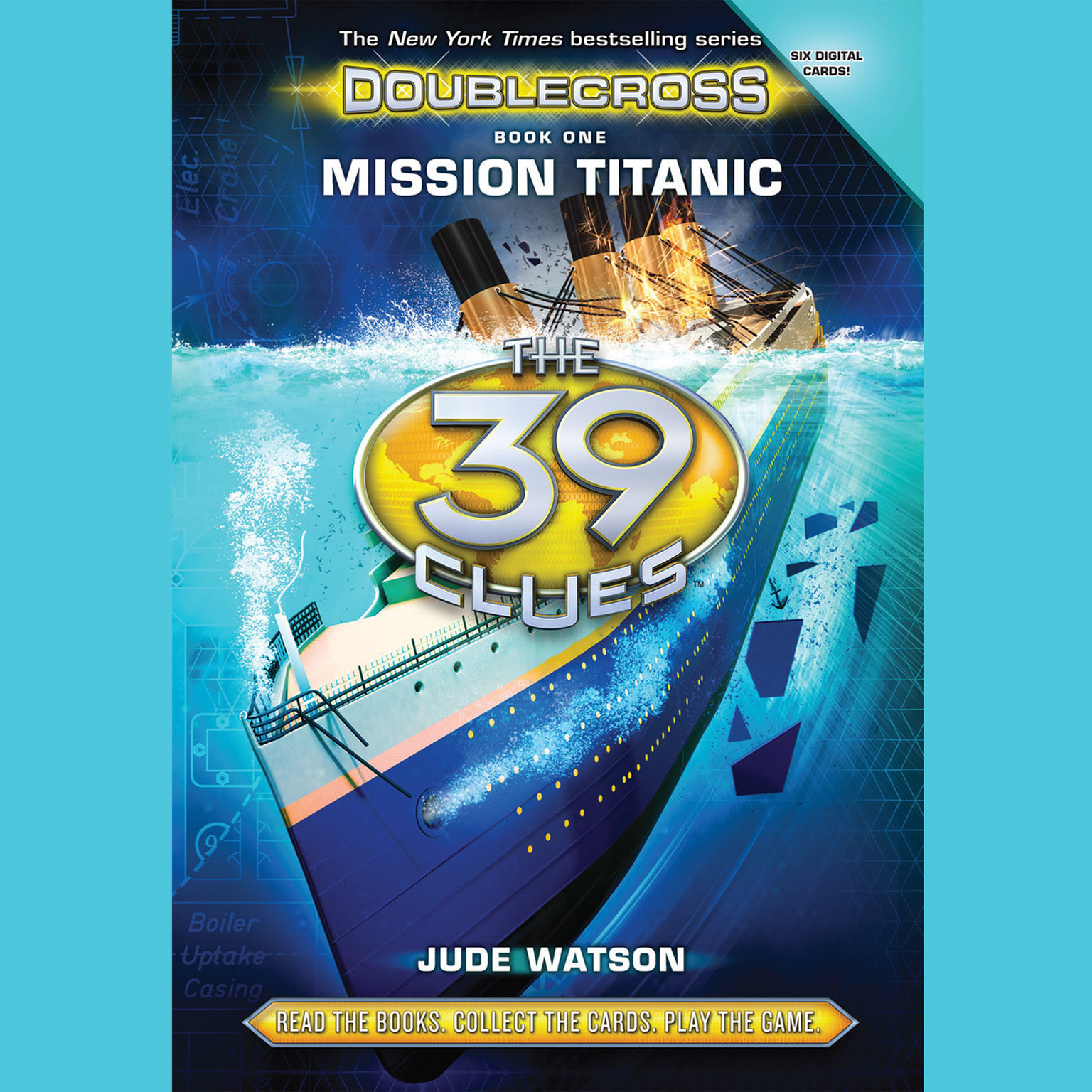 Printable Mission Titanic Audiobook Cover Art