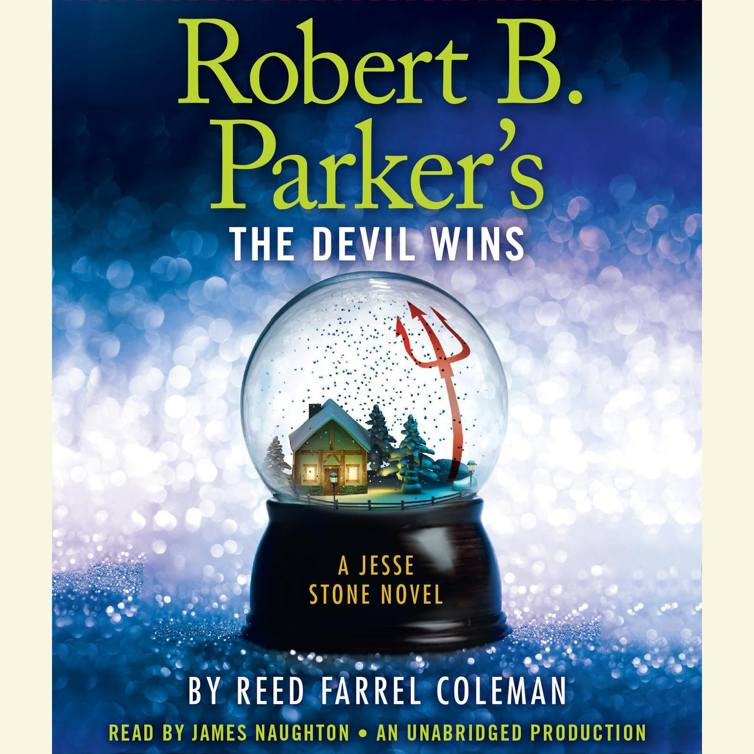 Printable Robert B. Parker's The Devil Wins Audiobook Cover Art