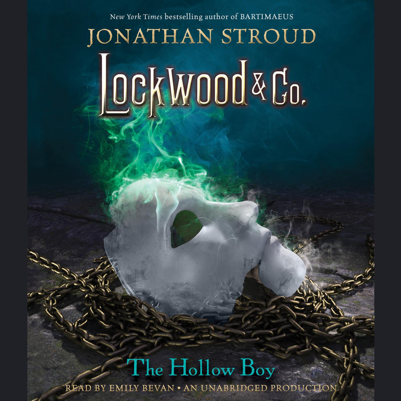 Printable Lockwood & Co., Book 3: The Hollow Boy Audiobook Cover Art