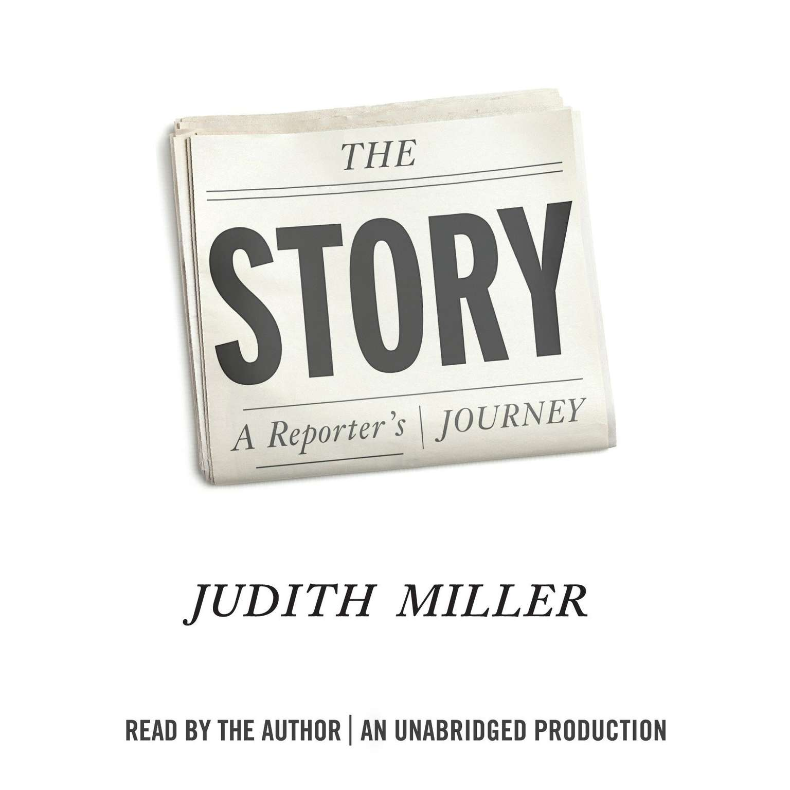Printable The Story: A Reporter's Journey Audiobook Cover Art