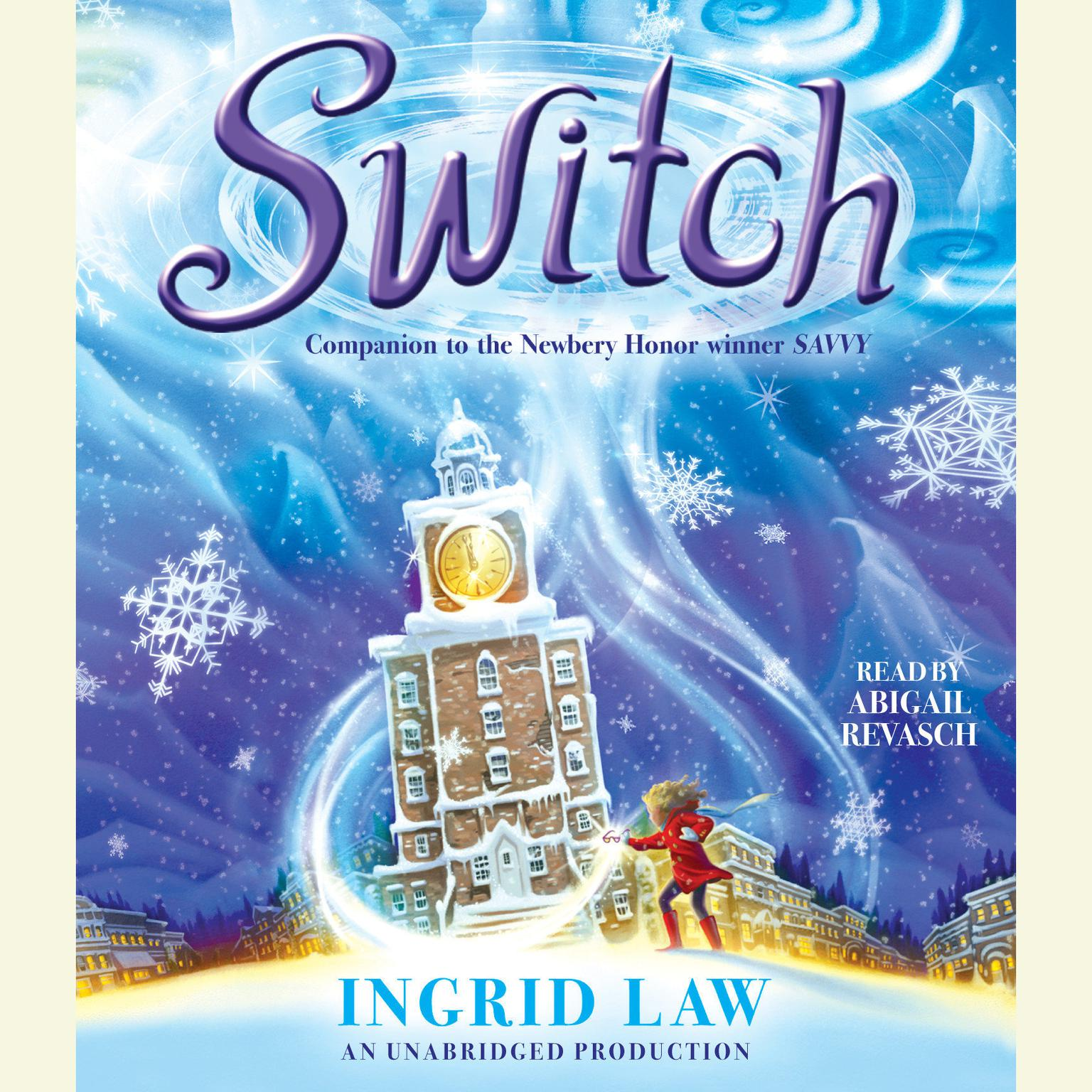 Printable Switch Audiobook Cover Art
