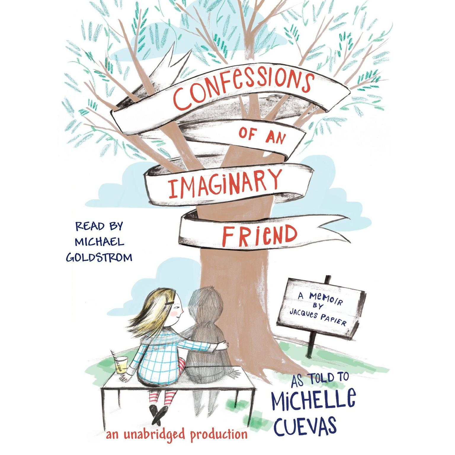 Printable Confessions of an Imaginary Friend Audiobook Cover Art