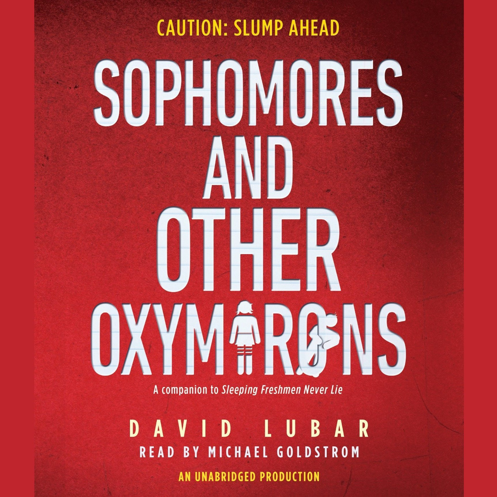 Printable Sophomores and Other Oxymorons Audiobook Cover Art