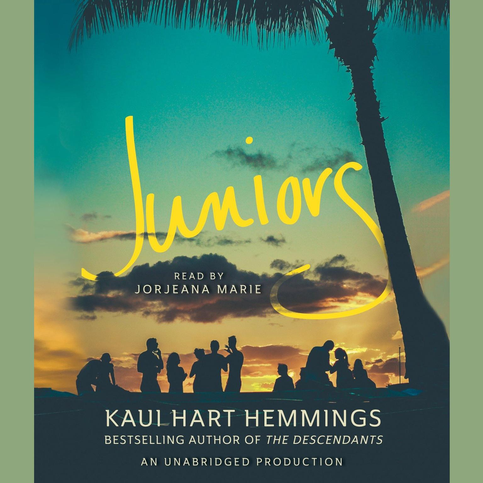 Printable Juniors Audiobook Cover Art