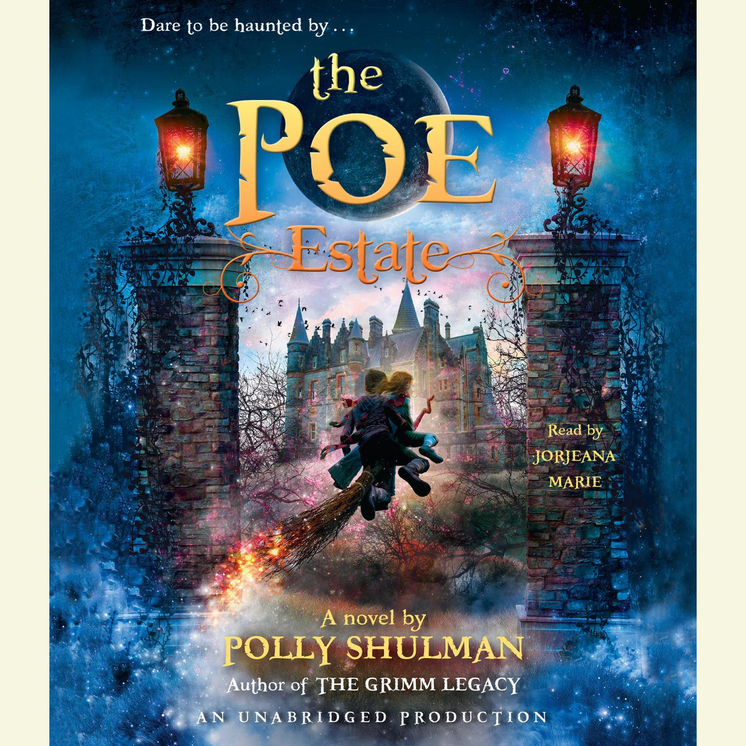 Printable The Poe Estate Audiobook Cover Art