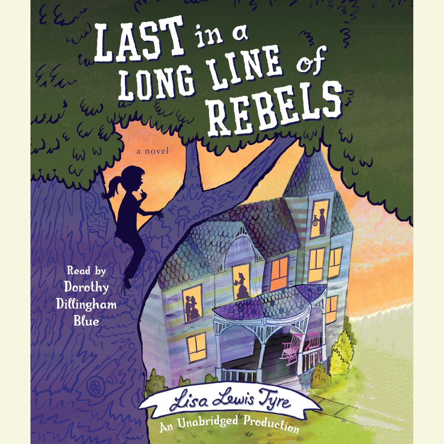 Printable Last in a Long Line of Rebels Audiobook Cover Art
