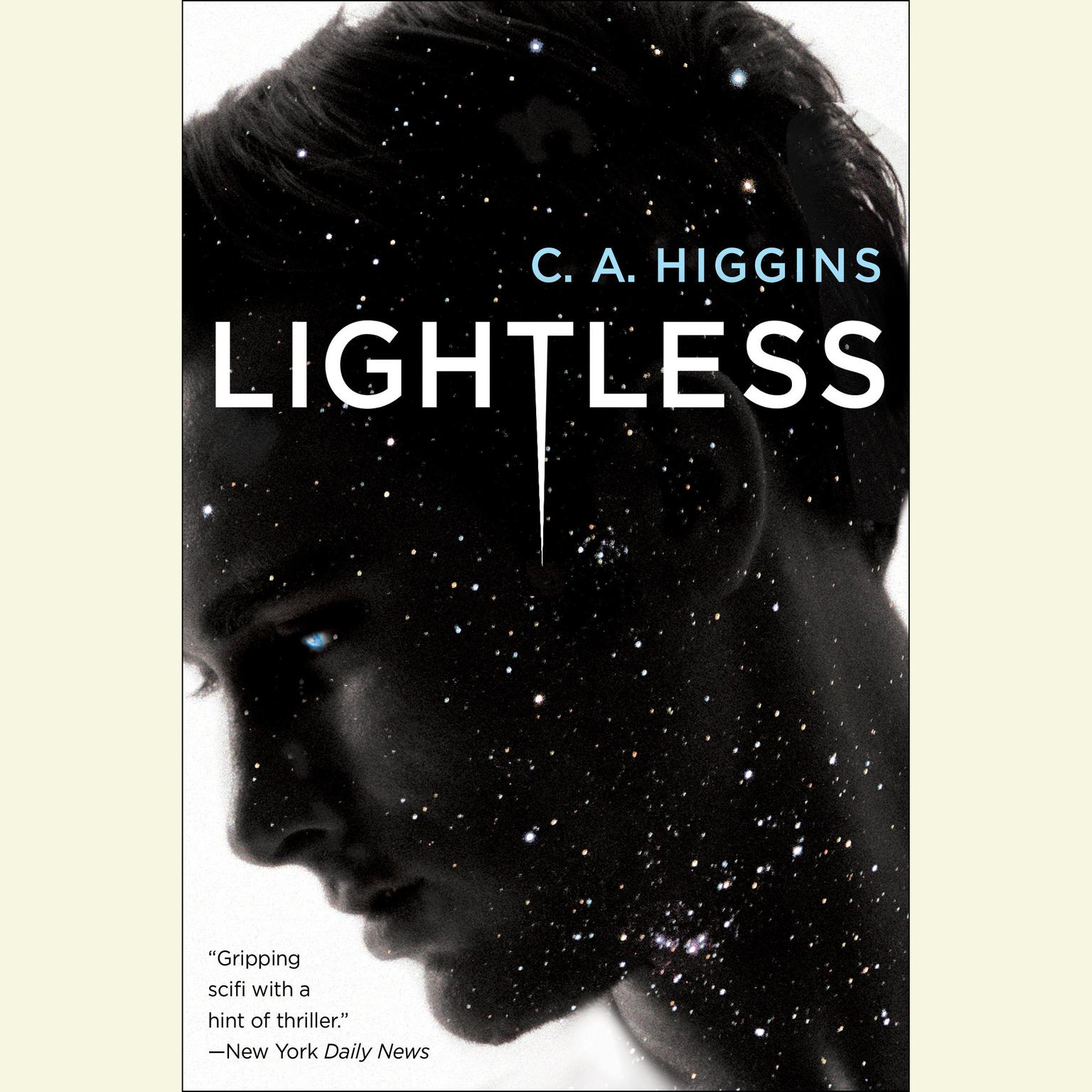 Printable Lightless Audiobook Cover Art