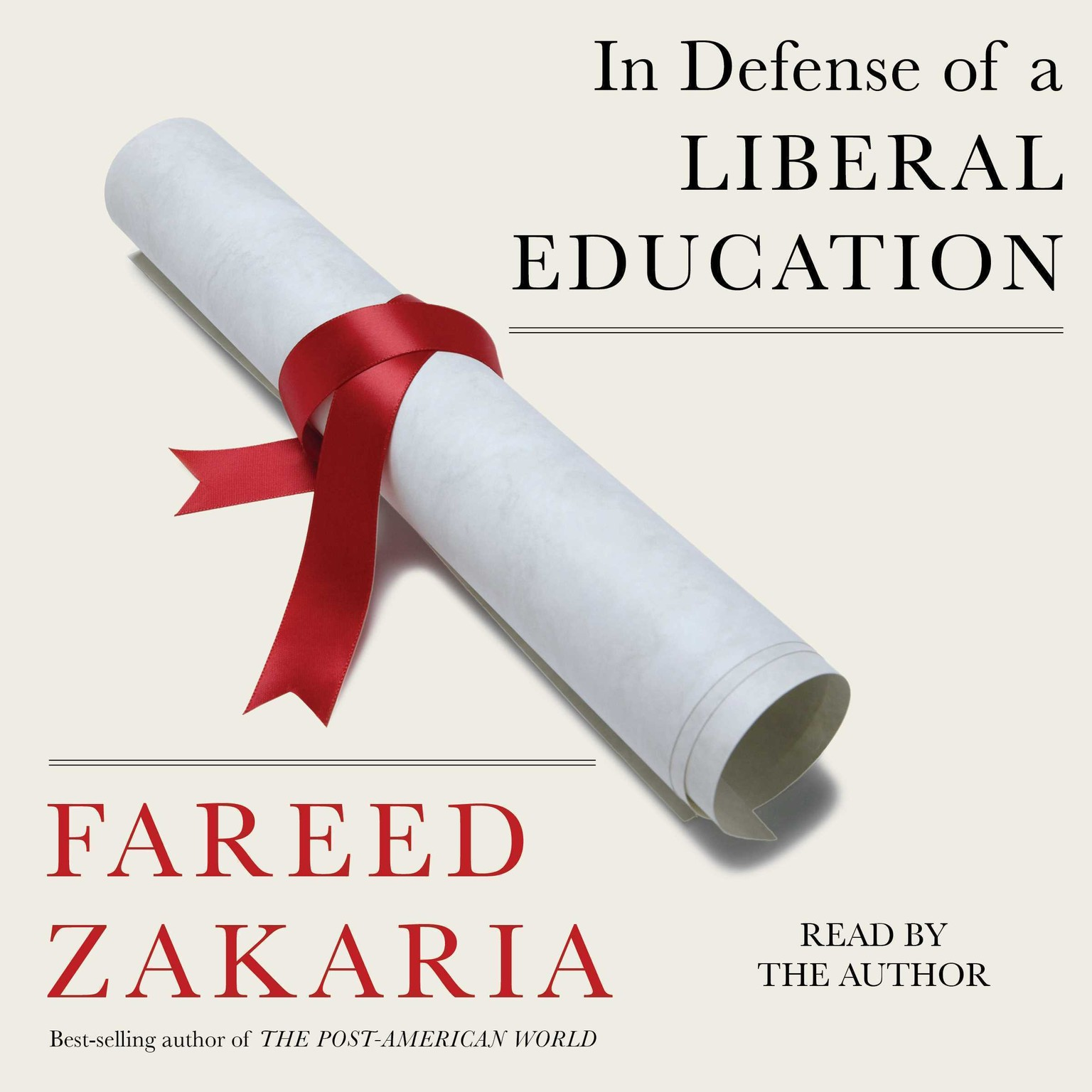 Printable In Defense of a Liberal Education Audiobook Cover Art