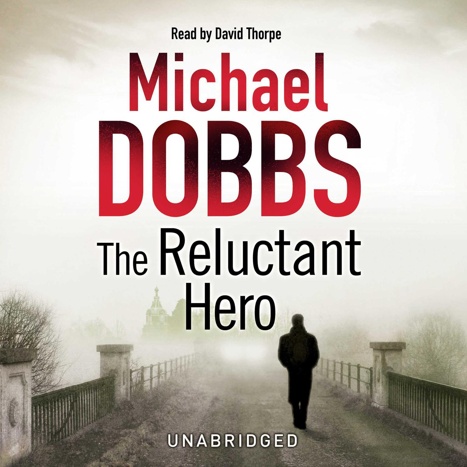 Printable The Reluctant Hero Audiobook Cover Art