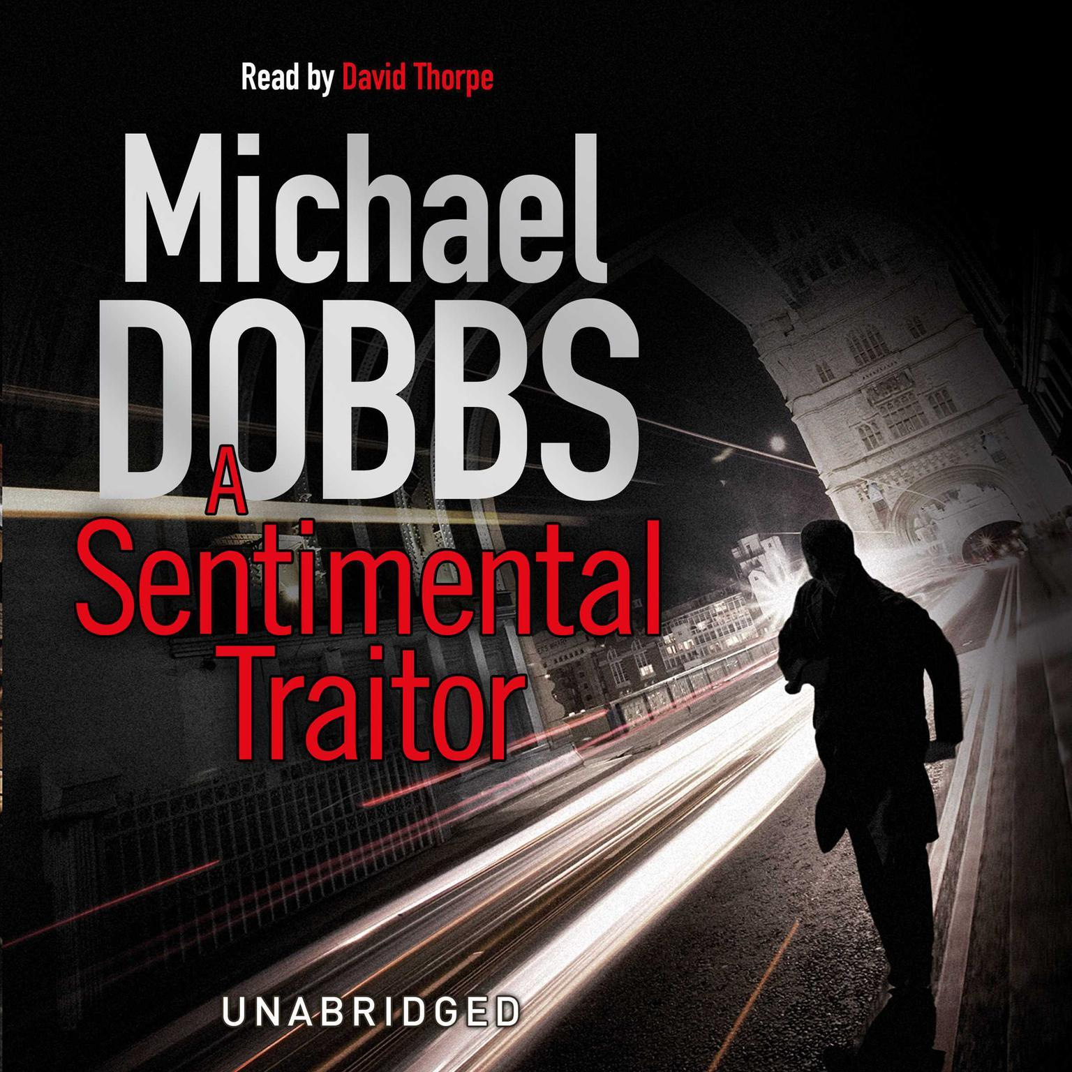 Printable A Sentimental Traitor Audiobook Cover Art