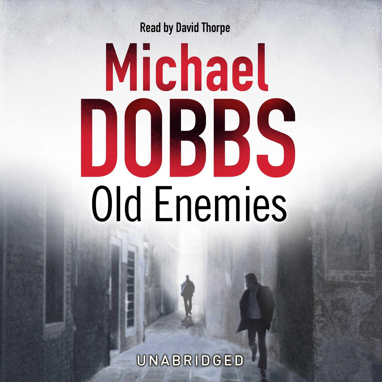 Printable Old Enemies Audiobook Cover Art