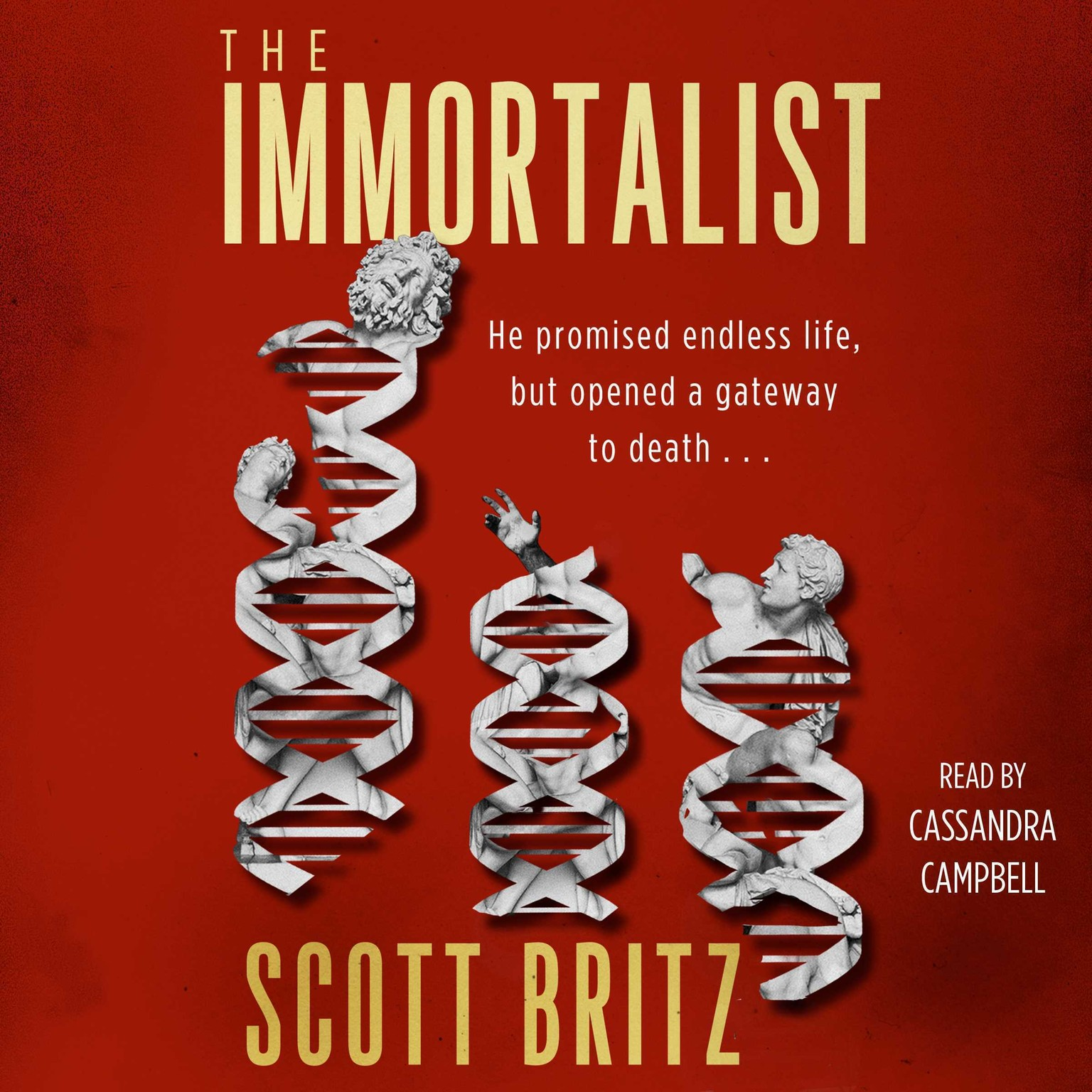 Printable The Immortalist: A Sci-Fi Thiriller Audiobook Cover Art
