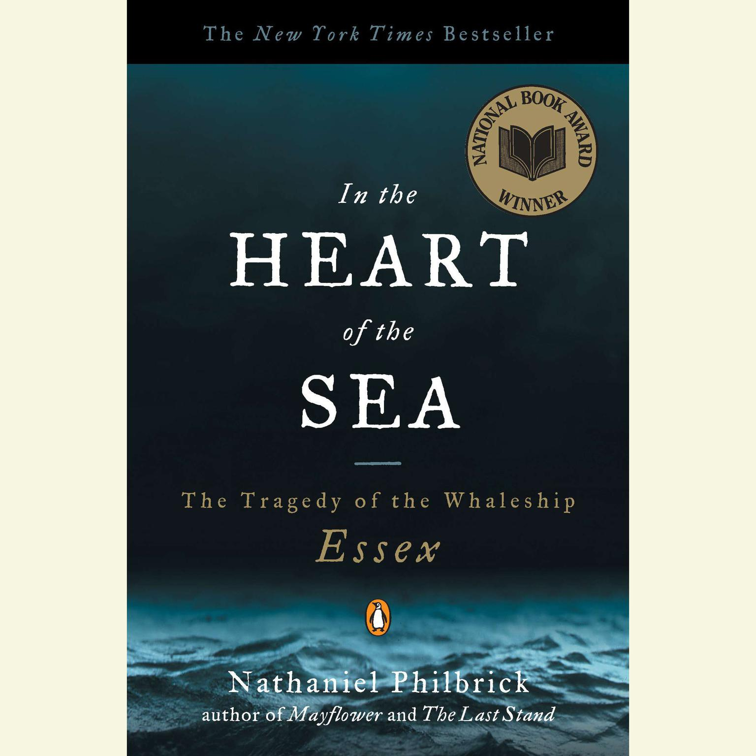 Printable In the Heart of the Sea: The Tragedy of the Whaleship Essex (Movie Tie-in) Audiobook Cover Art