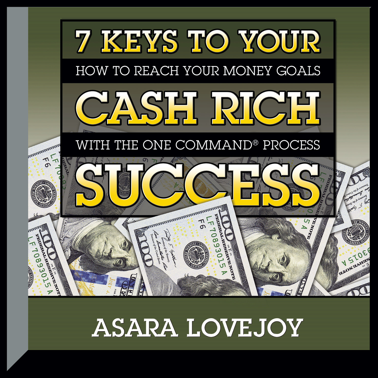 Printable 7 Keys to your Cash Rich Success: How to Reach Your Money Goals with the One Command Process Audiobook Cover Art