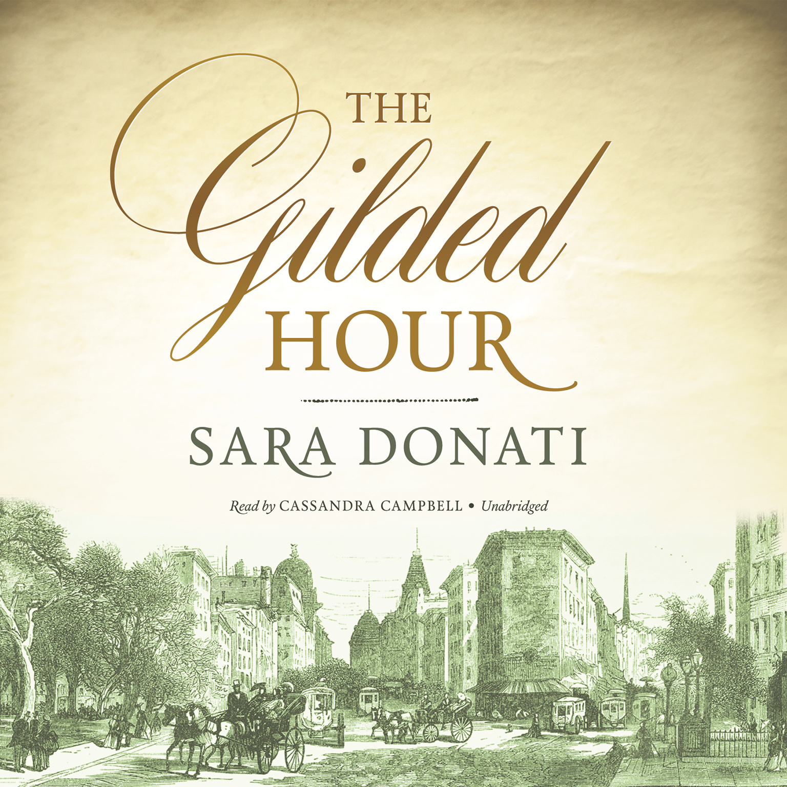 Printable The Gilded Hour Audiobook Cover Art