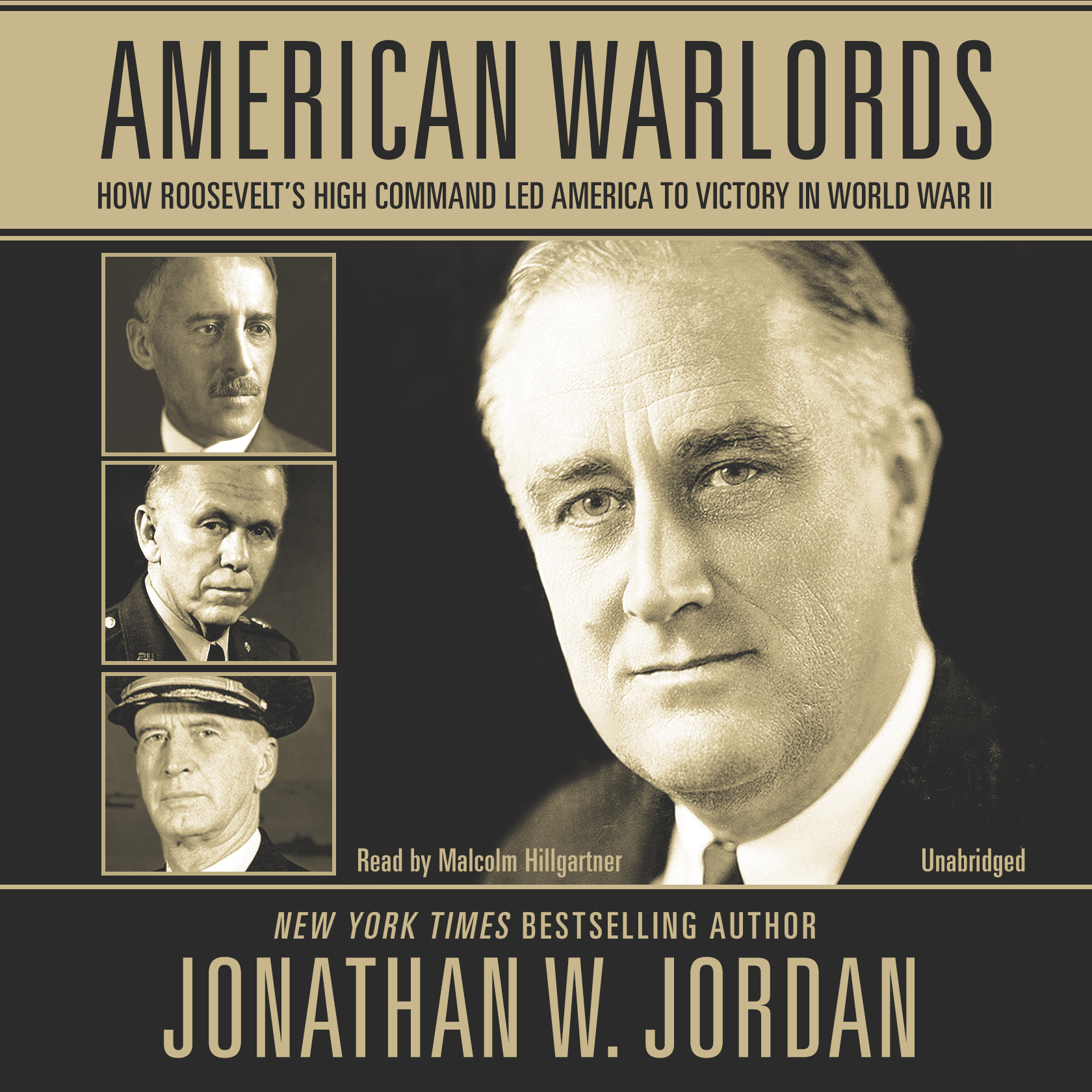 Printable American Warlords: How Roosevelt's High Command Led America to Victory in World War II Audiobook Cover Art