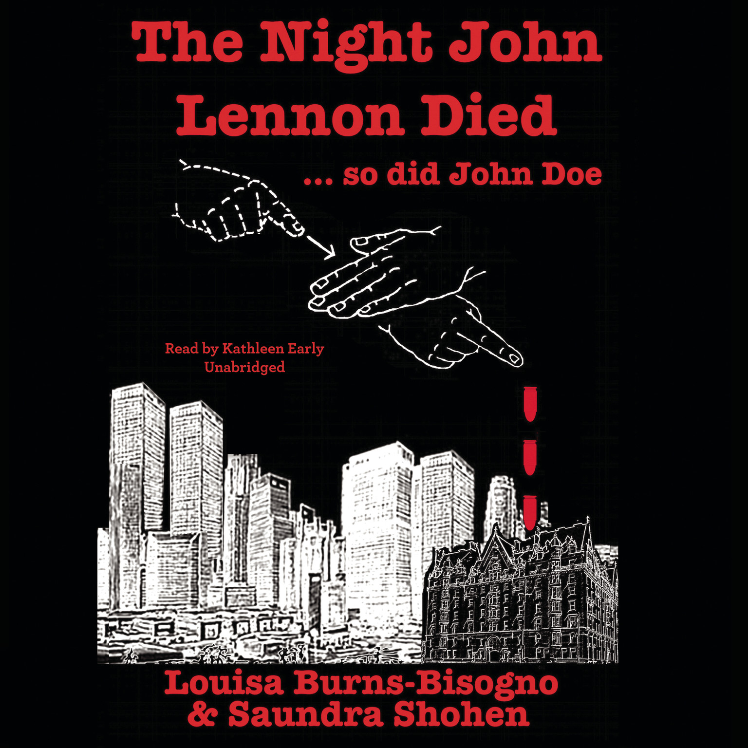 Printable The Night John Lennon Died … so did John Doe Audiobook Cover Art