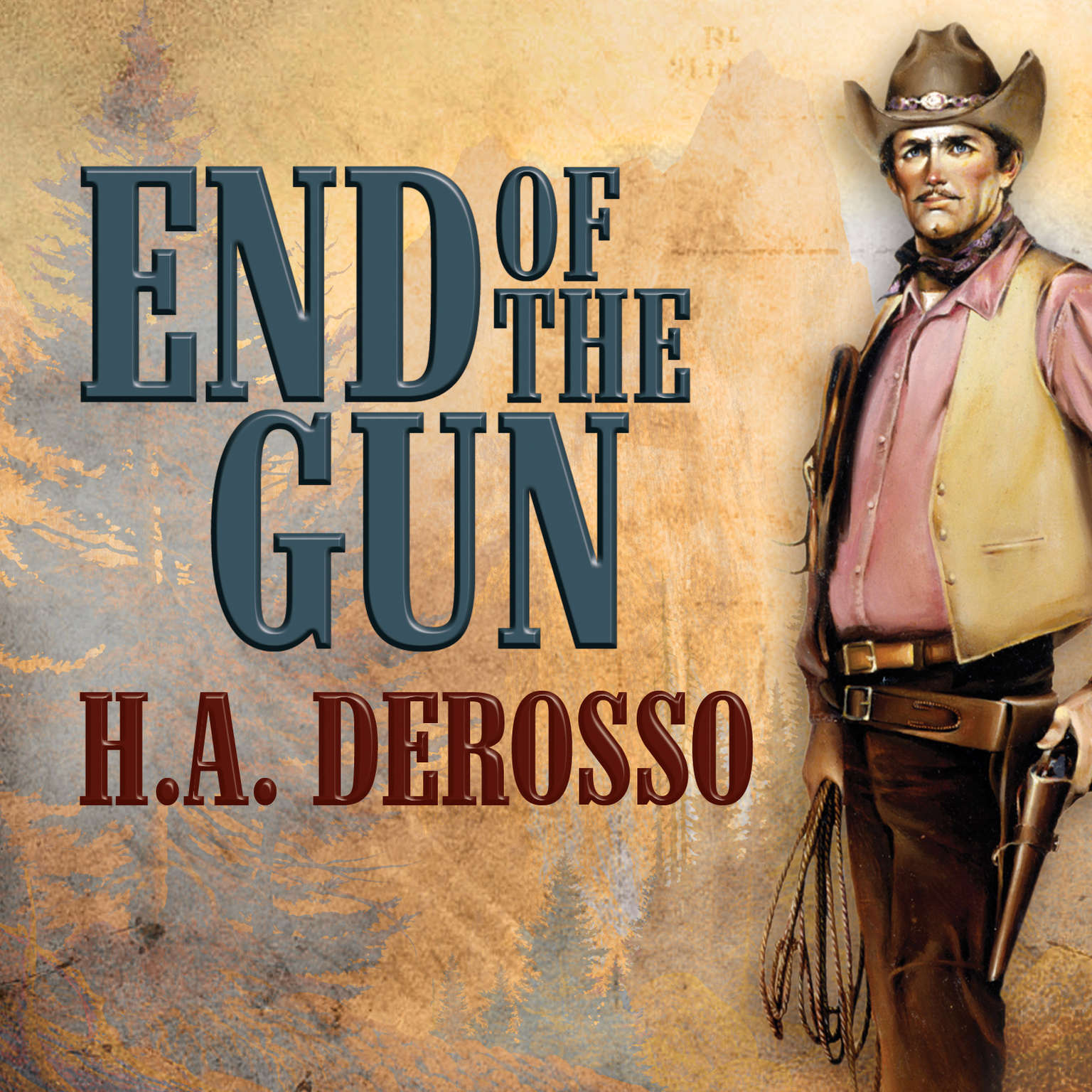 Printable End of the Gun Audiobook Cover Art