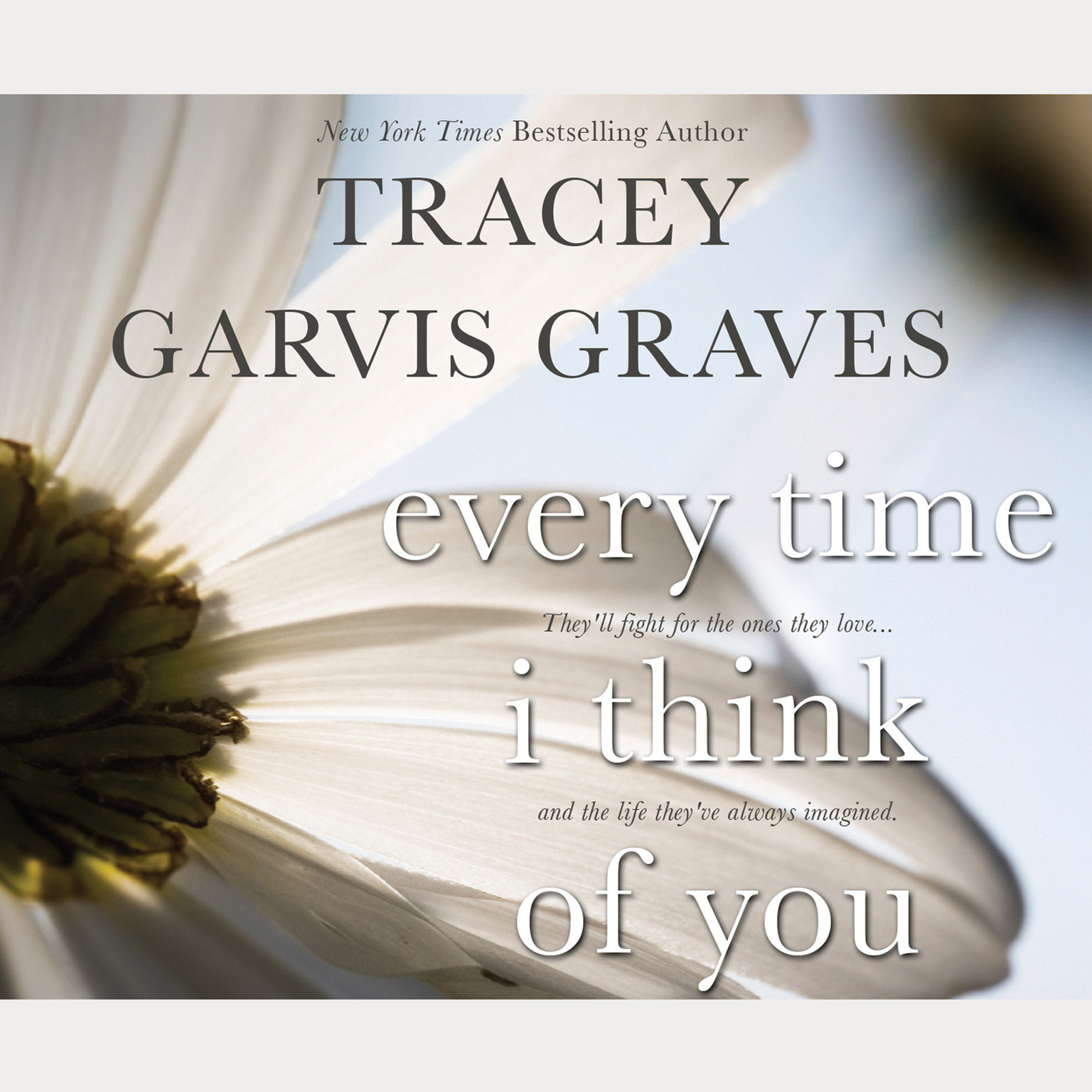 Printable Every Time I Think of You Audiobook Cover Art