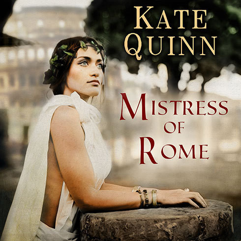 Printable Mistress of Rome Audiobook Cover Art