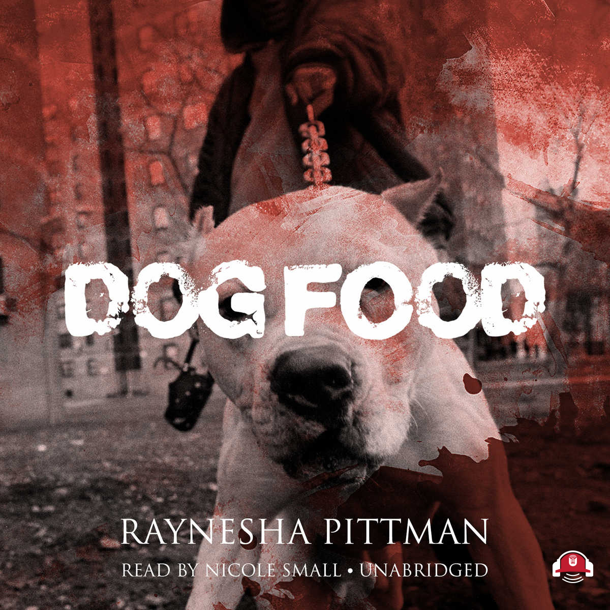 Printable Dog Food Audiobook Cover Art