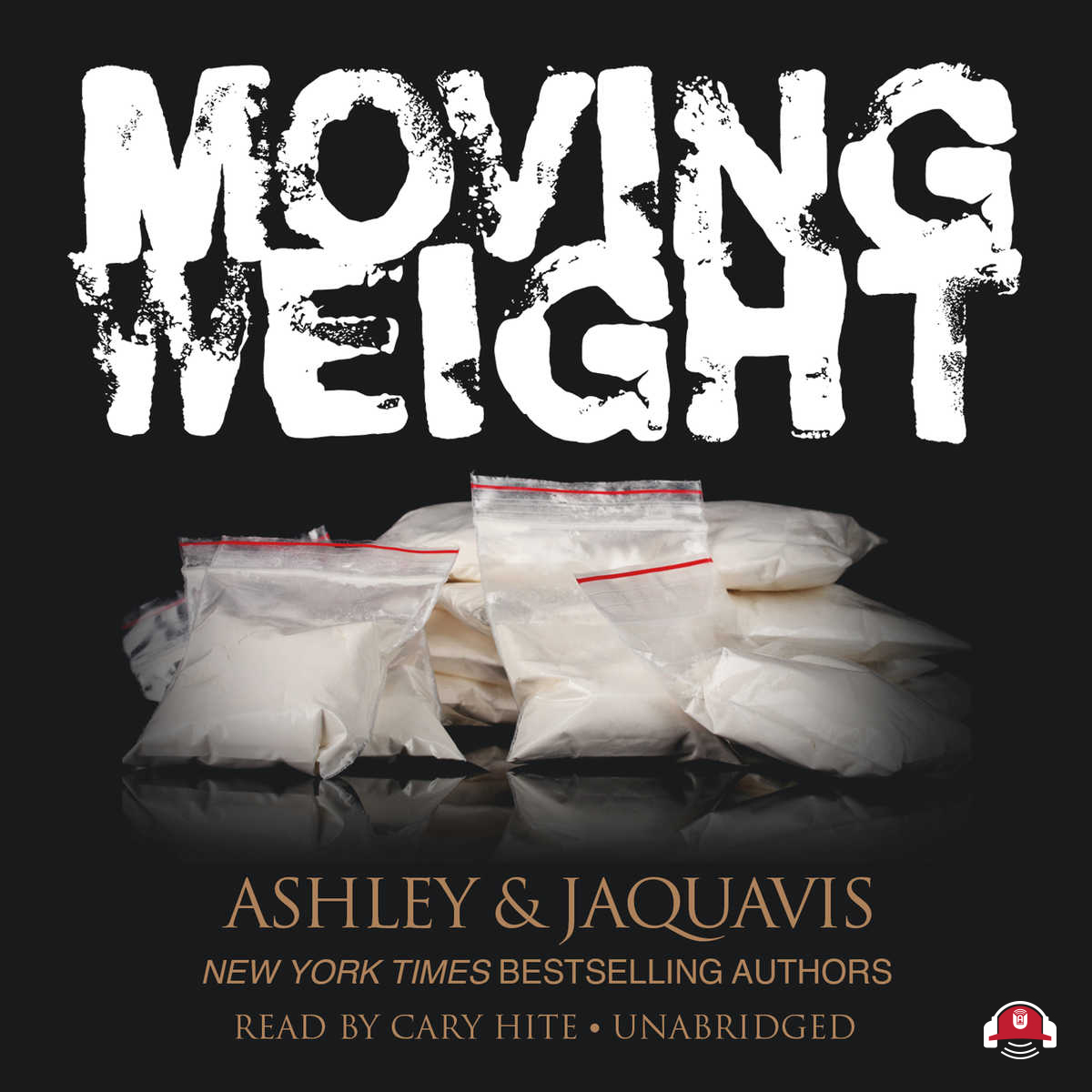 Printable Moving Weight Audiobook Cover Art