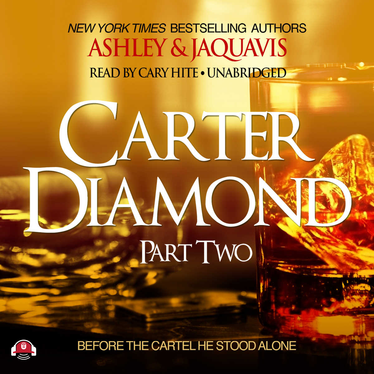 Printable Carter Diamond, Part Two Audiobook Cover Art