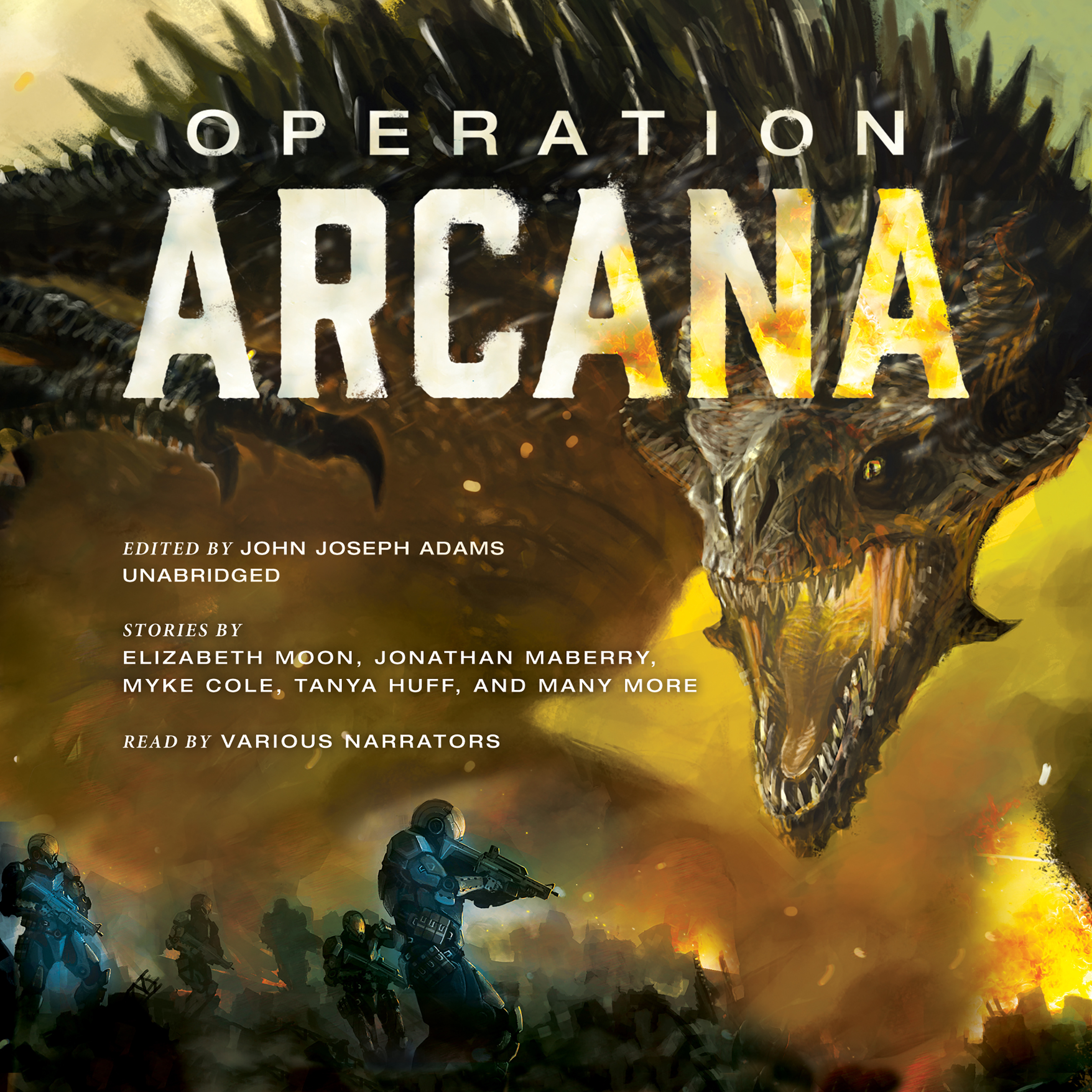 Printable Operation Arcana Audiobook Cover Art