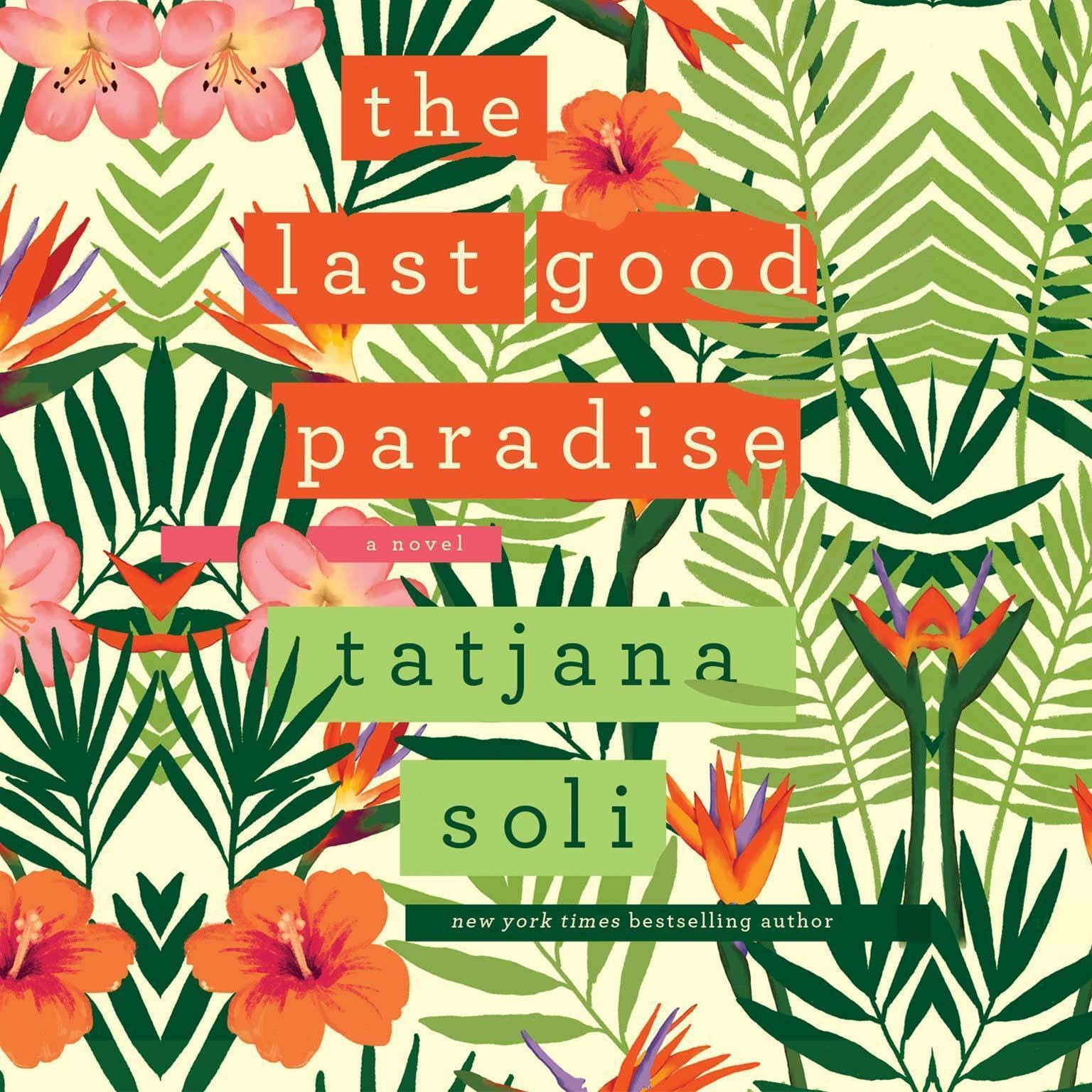Printable The Last Good Paradise Audiobook Cover Art