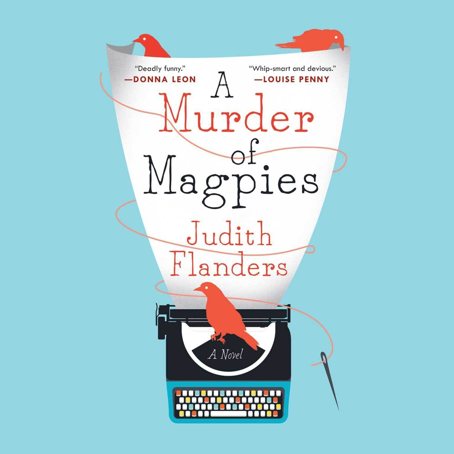 Printable A Murder of Magpies Audiobook Cover Art