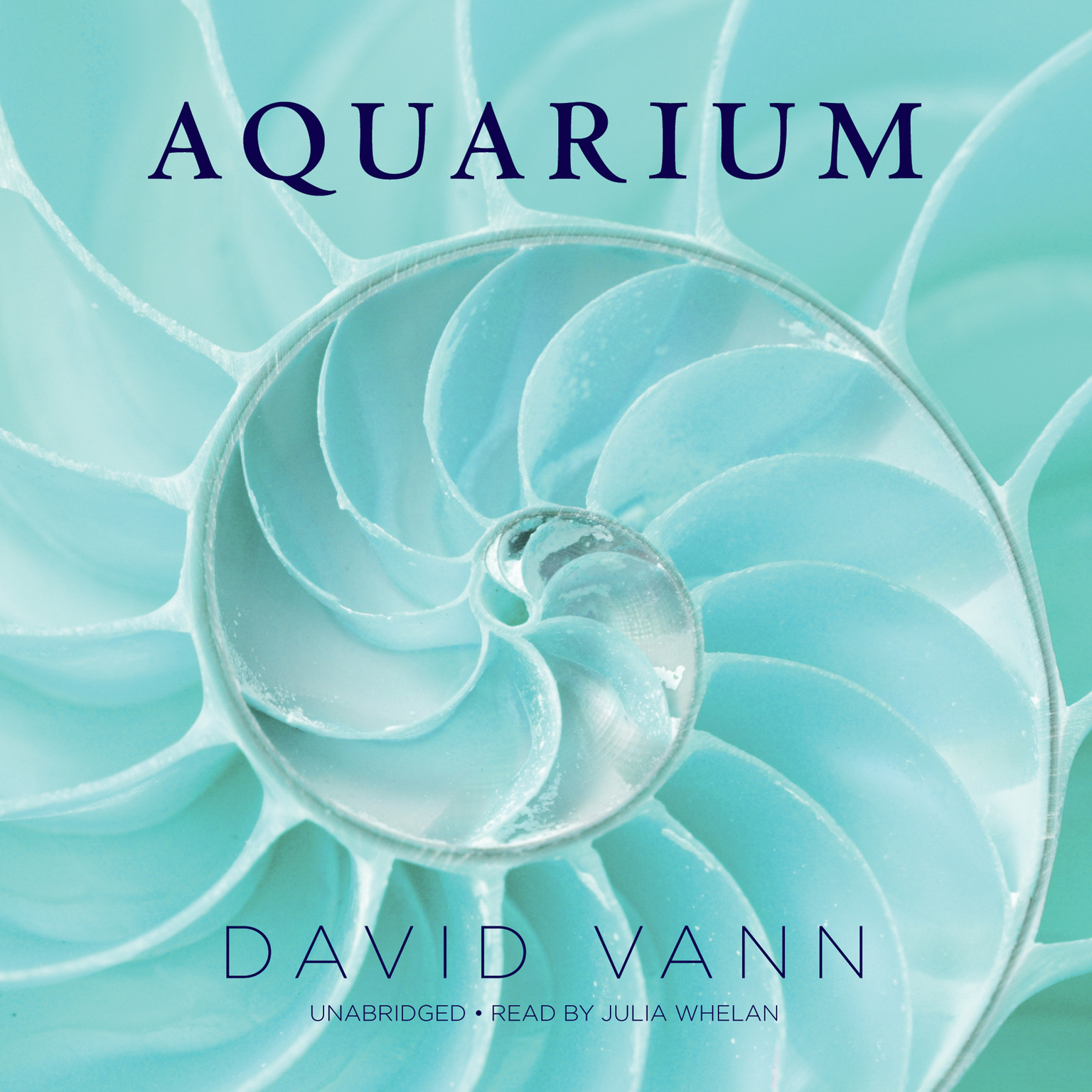 Printable Aquarium Audiobook Cover Art