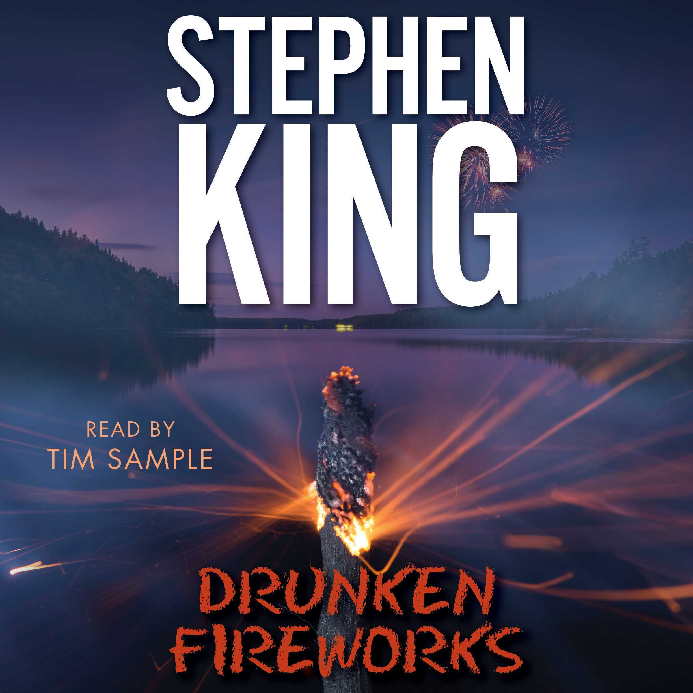 Printable Drunken Fireworks Audiobook Cover Art