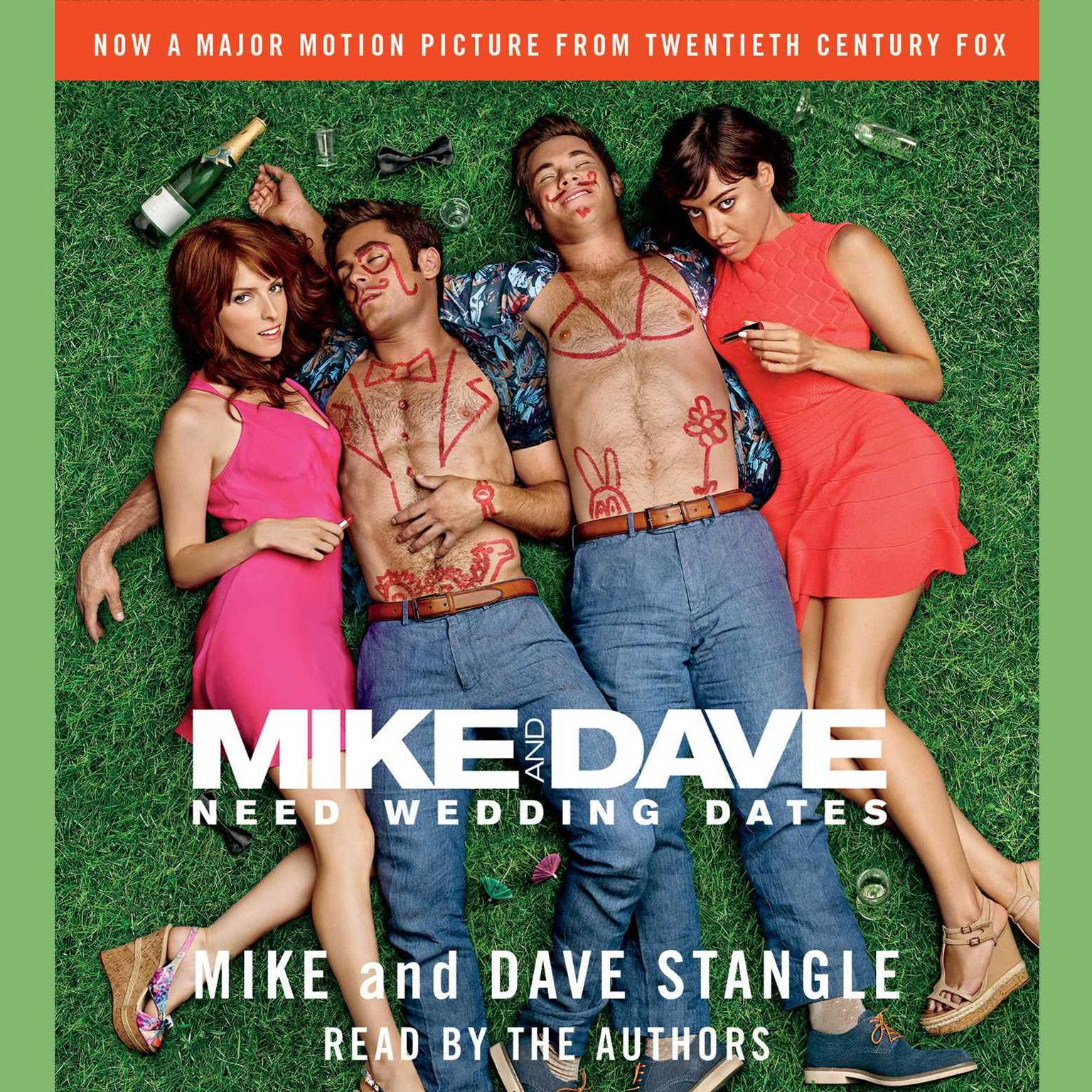 Printable Mike and Dave Need Wedding Dates: And a Thousand Cocktails Audiobook Cover Art