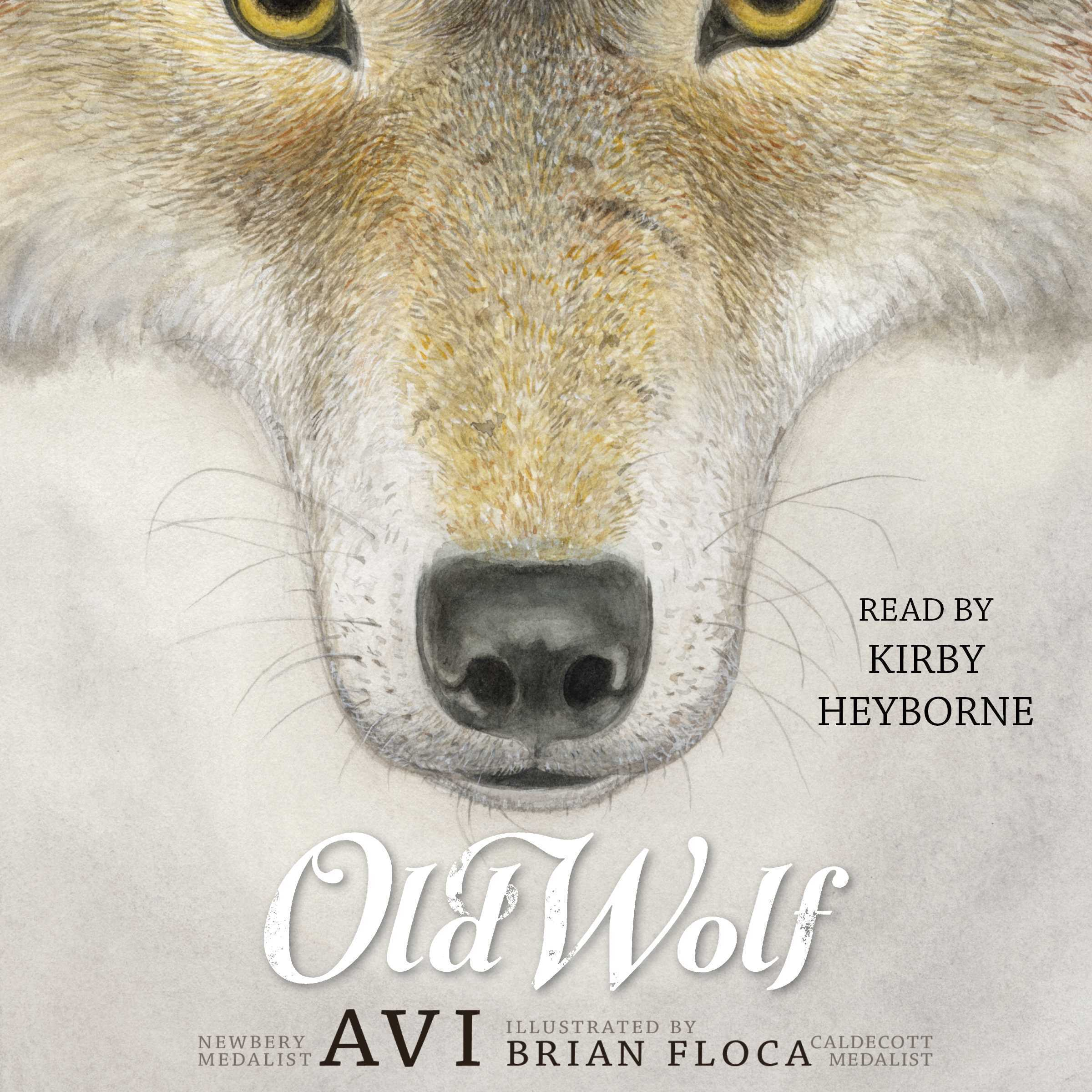 Printable Old Wolf Audiobook Cover Art