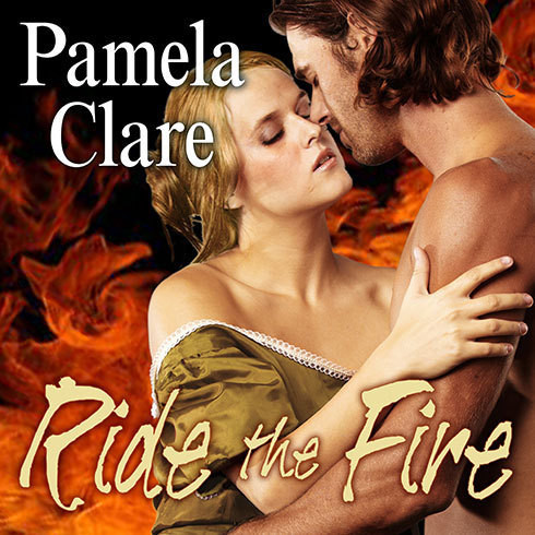 Printable Ride the Fire Audiobook Cover Art