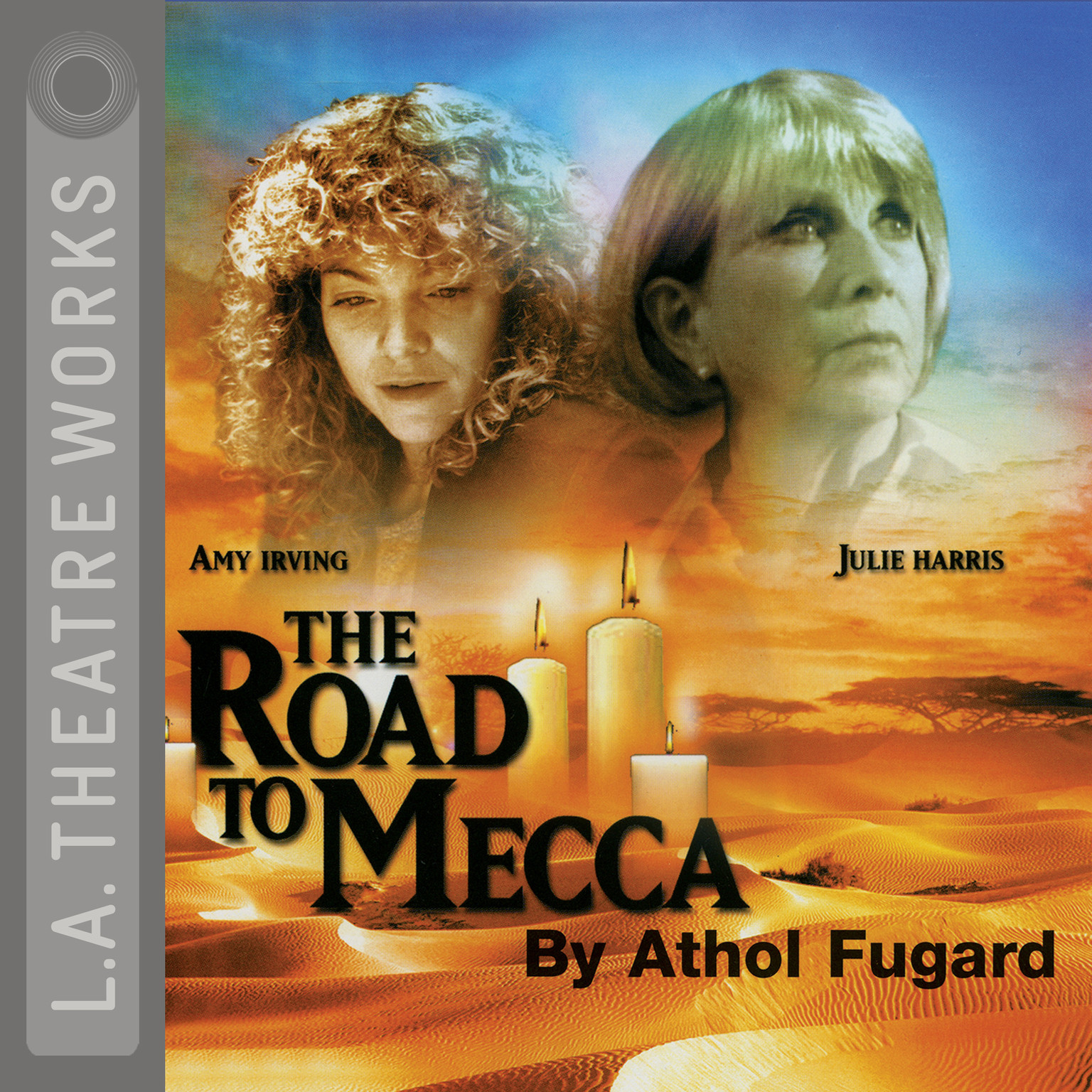 Printable The Road to Mecca Audiobook Cover Art