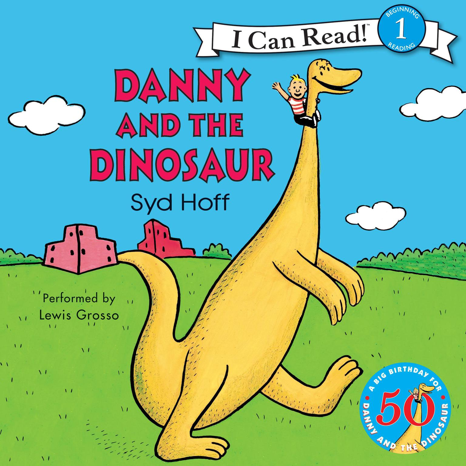 Printable Danny and the Dinosaur 50th Anniversary Edition Audiobook Cover Art