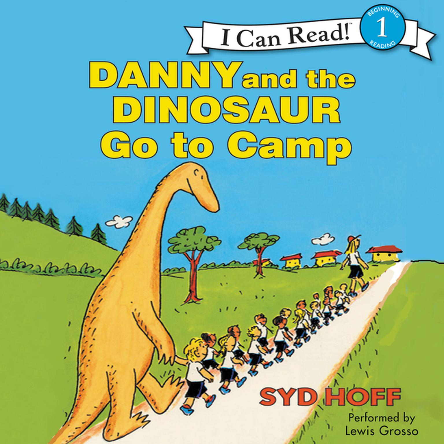 Printable Danny and the Dinosaur Go to Camp Audiobook Cover Art