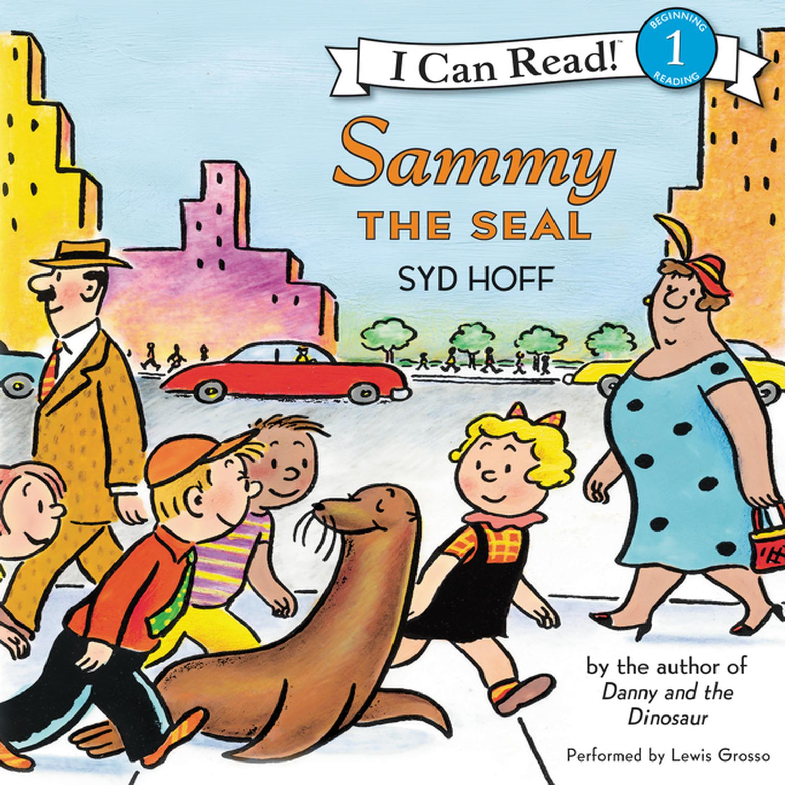 Printable Sammy the Seal Audiobook Cover Art
