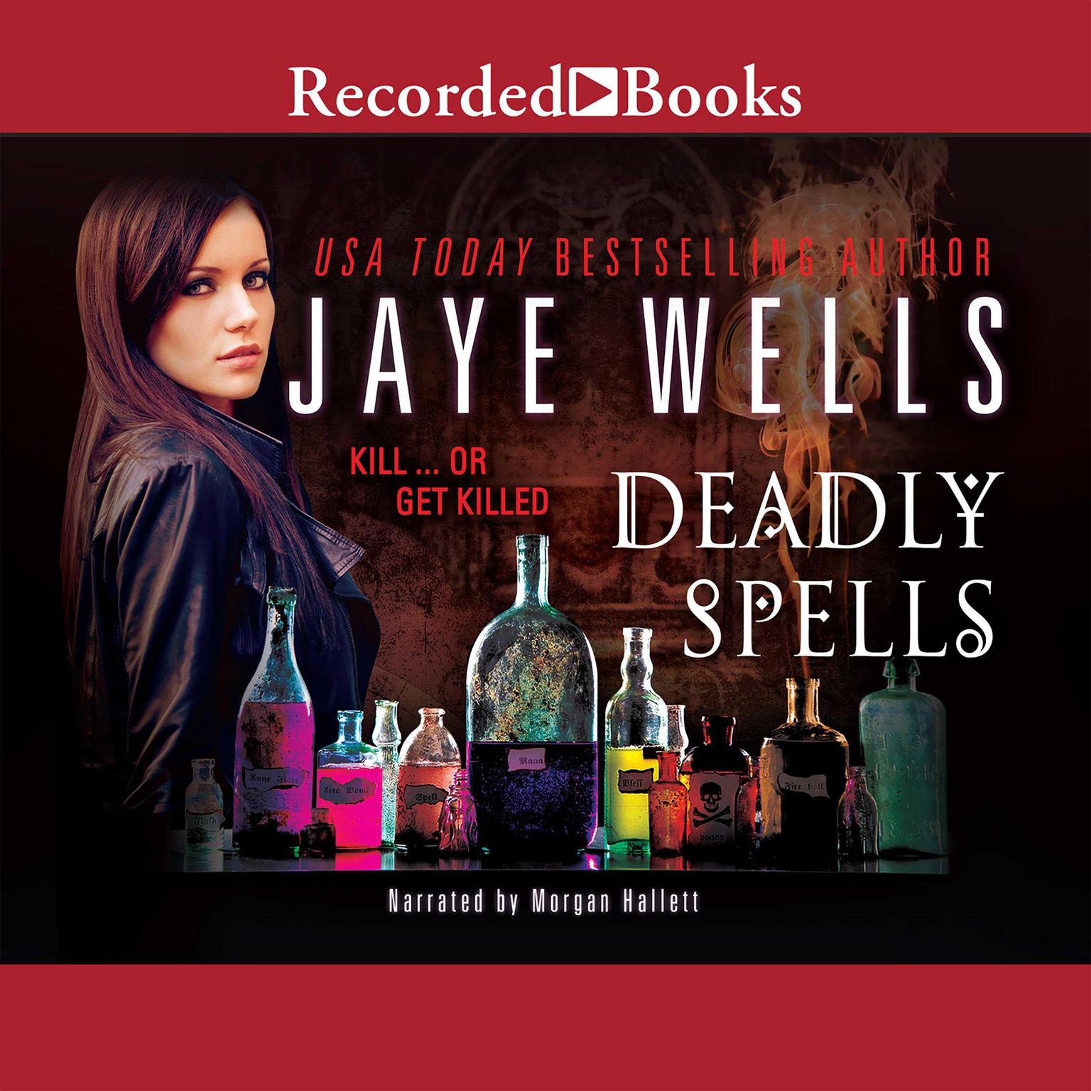 Printable Deadly Spells Audiobook Cover Art