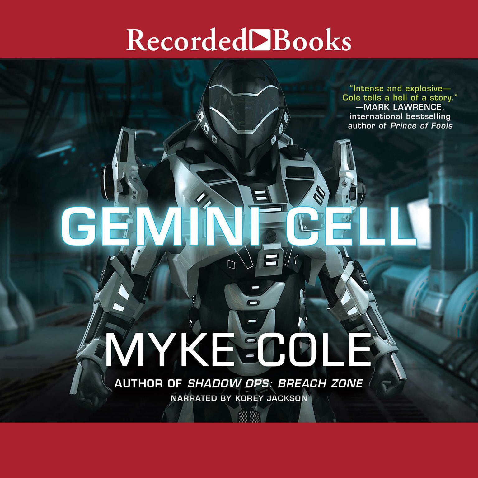 Printable Gemini Cell Audiobook Cover Art