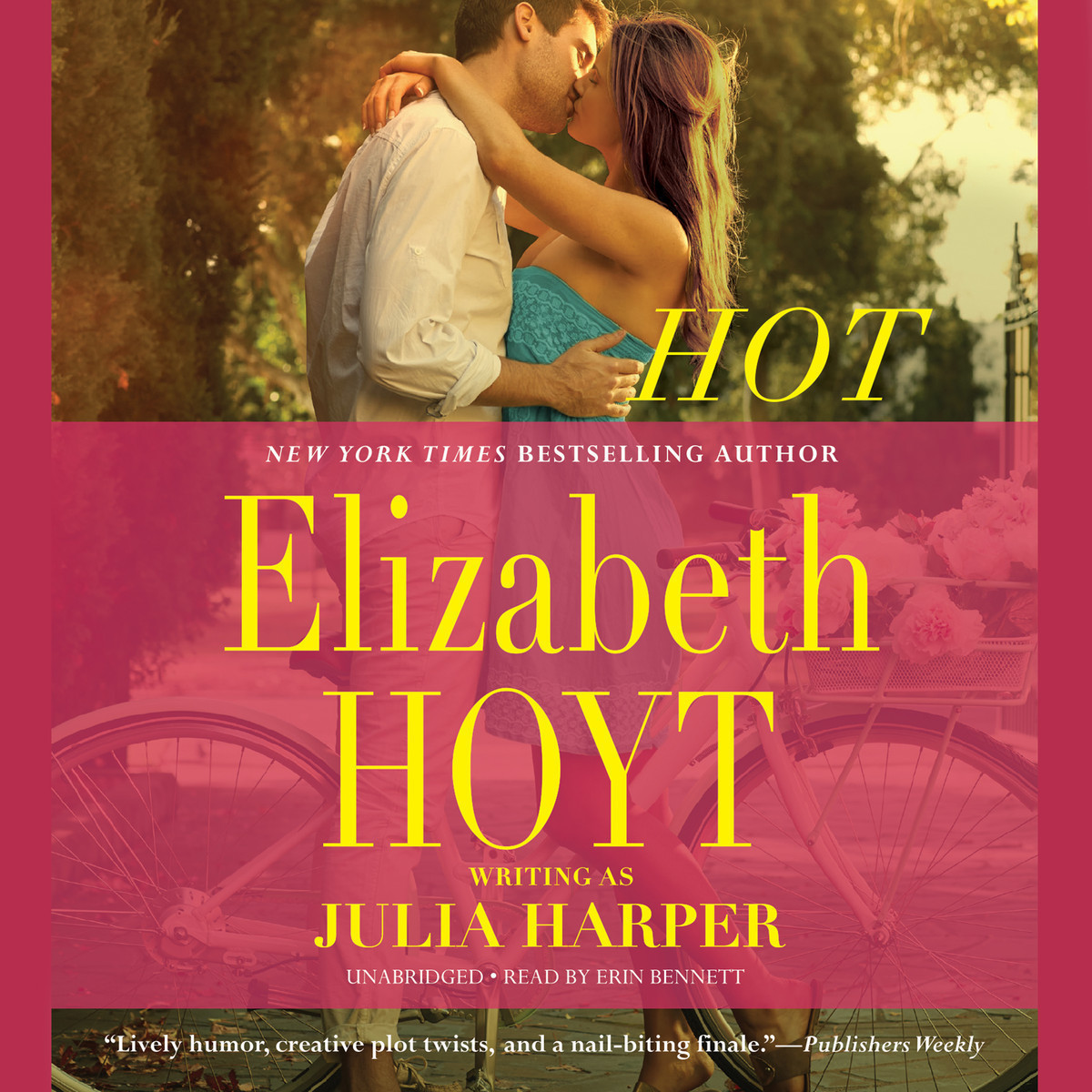 Printable Hot Audiobook Cover Art