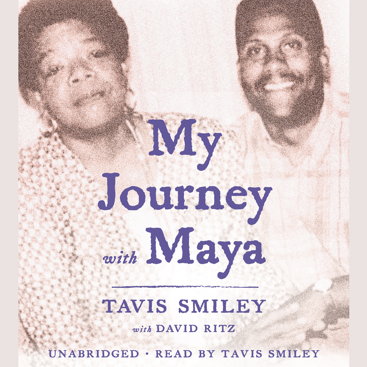 Printable My Journey with Maya Audiobook Cover Art