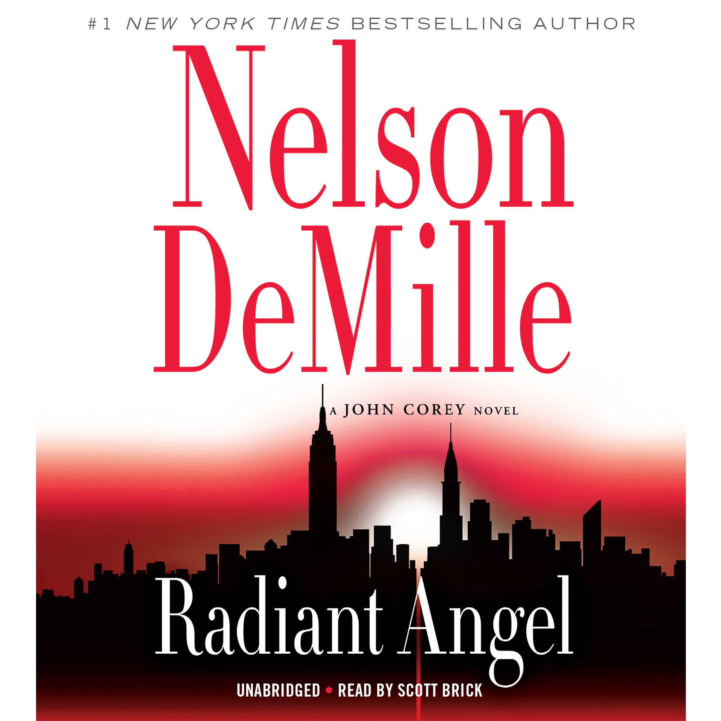 Printable Radiant Angel Audiobook Cover Art