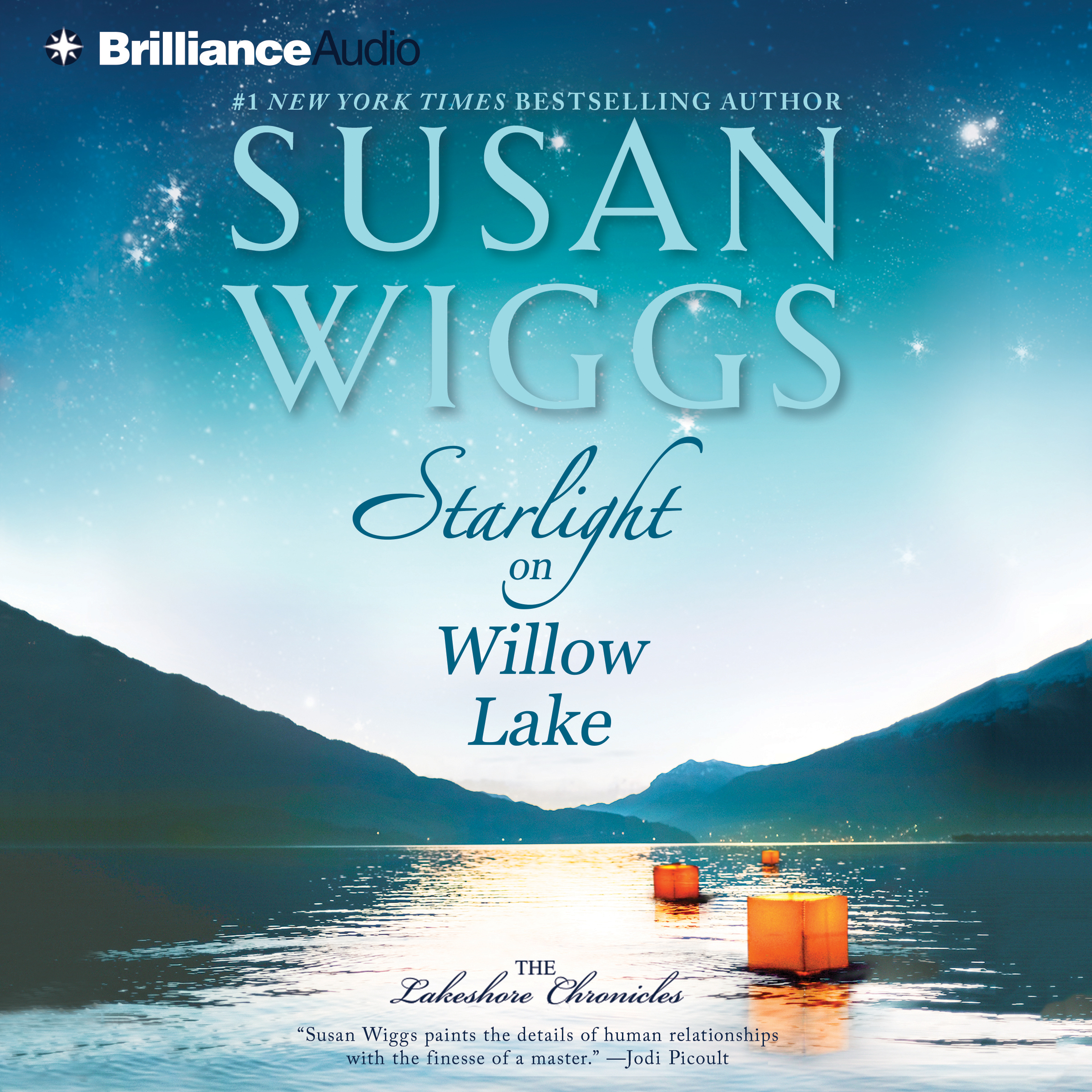 Printable Starlight on Willow Lake Audiobook Cover Art